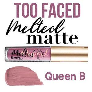5/$15 Too Faced Melted Matte Liquid Lipstick Queen